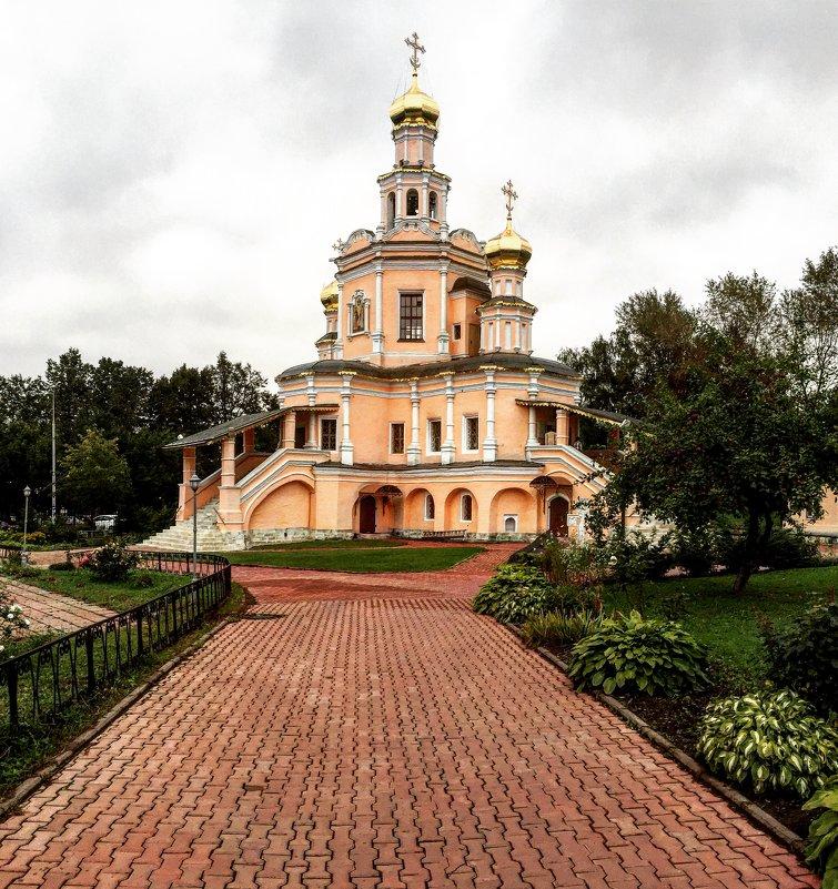 Храм Бориса и Глеба( Зюзино) - AristovArt
