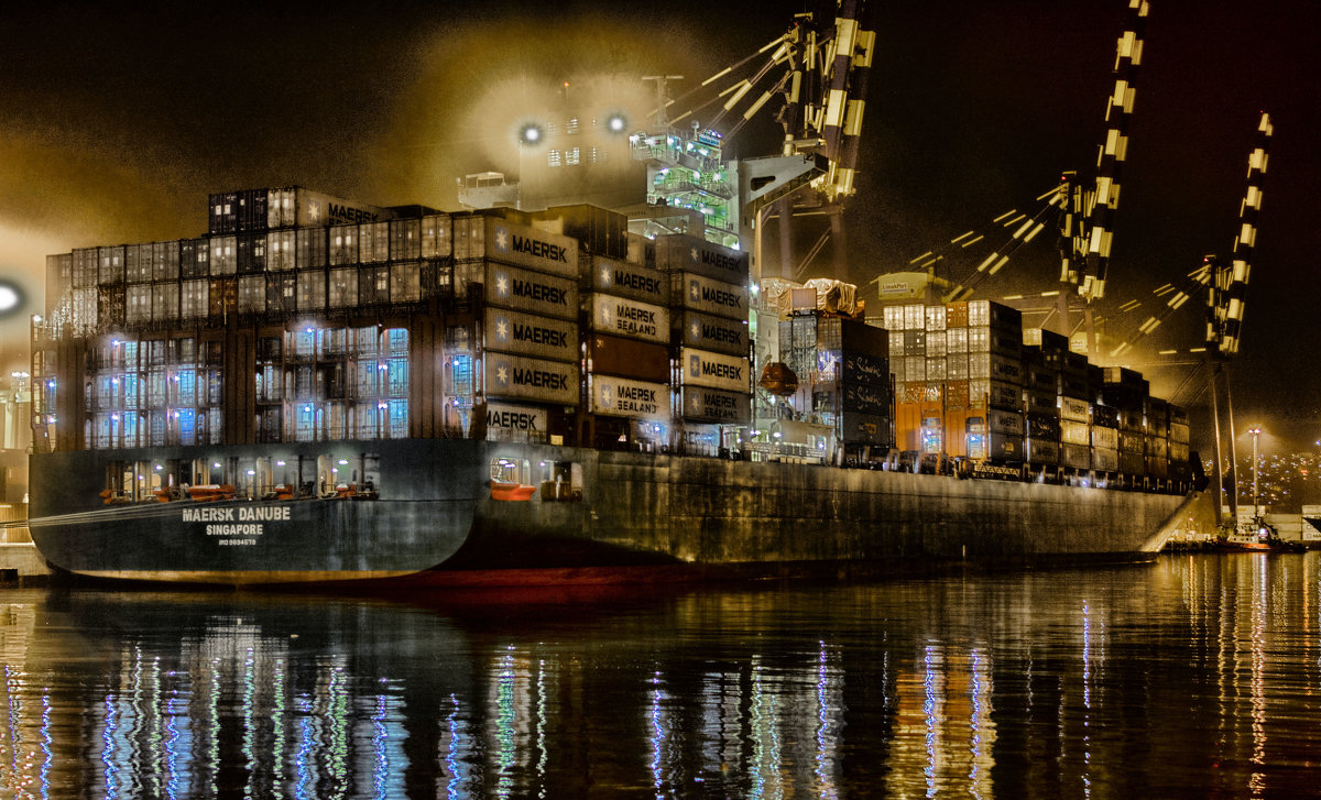 Container ship - Константин Сытник