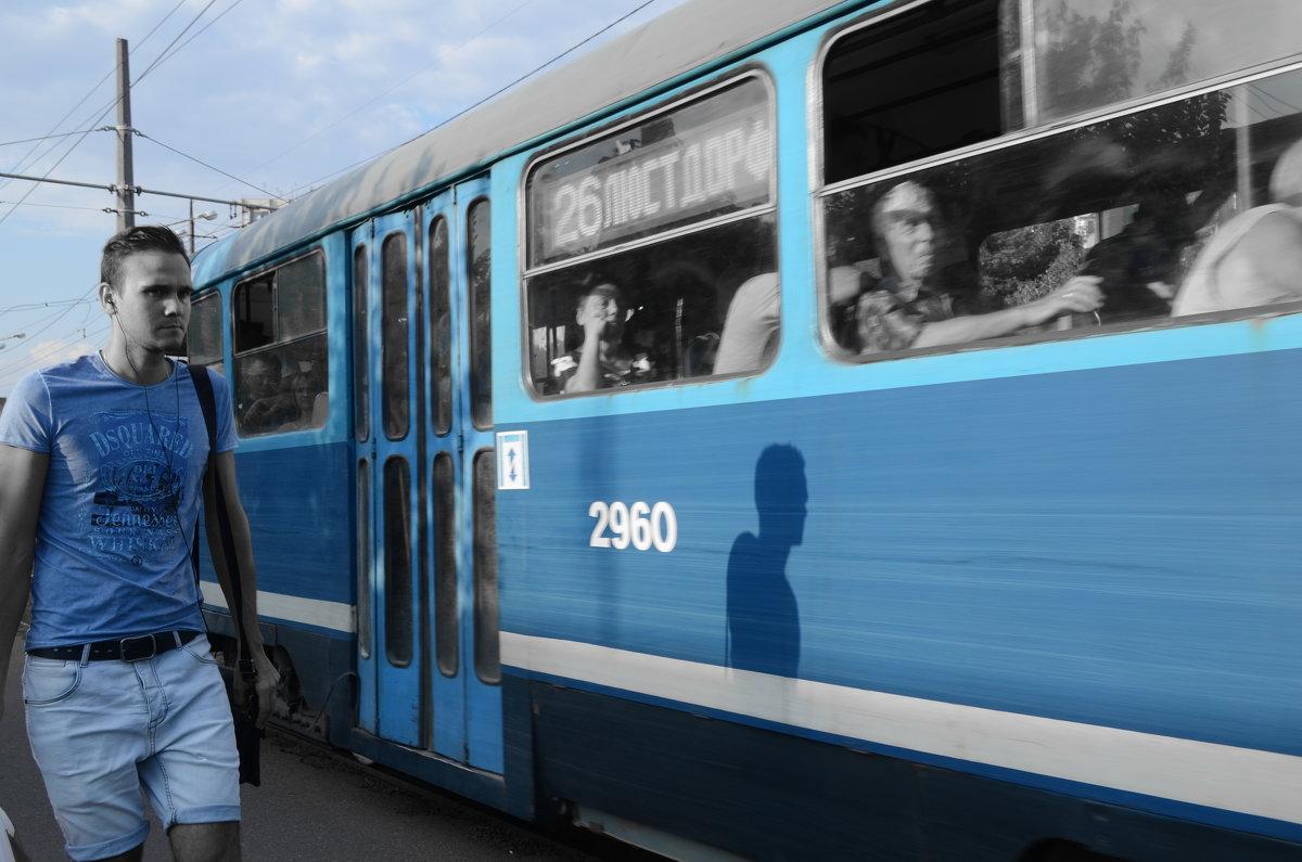 трамвай транспорт - Александр