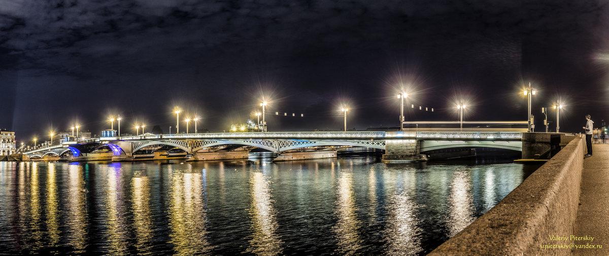 Благовещенский мост - Valeriy Piterskiy