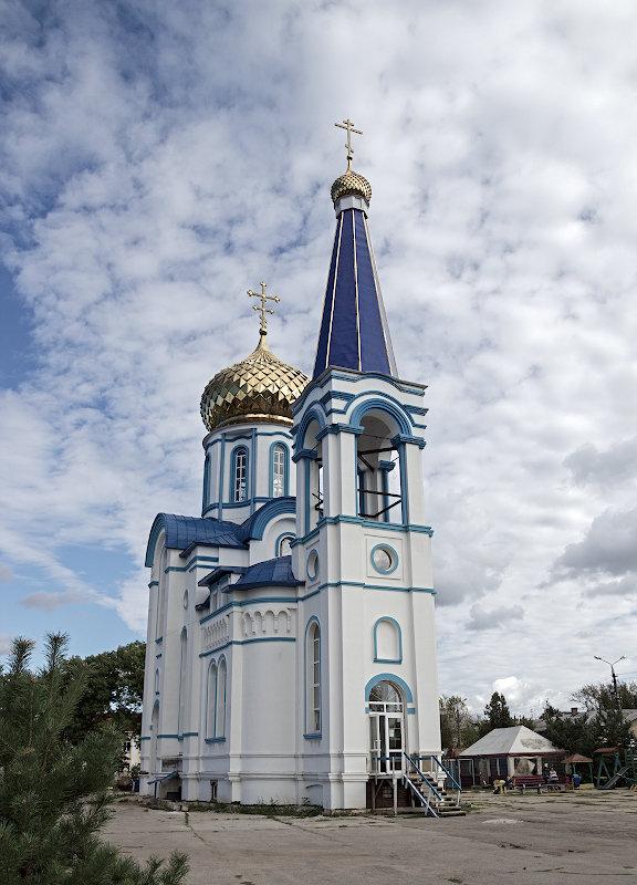Храм,облака. - Анатолий Круглов