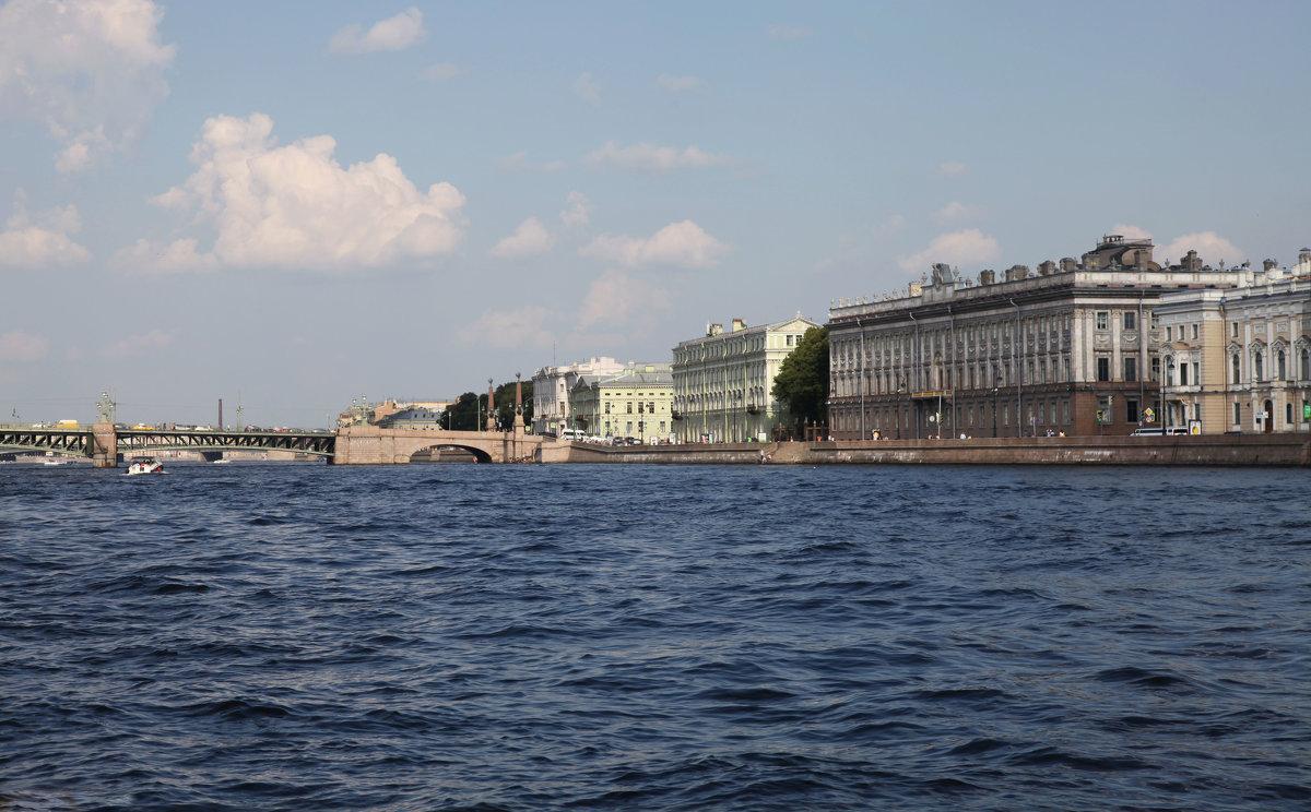 Вид с Невы. Мраморный дворец - Наталья