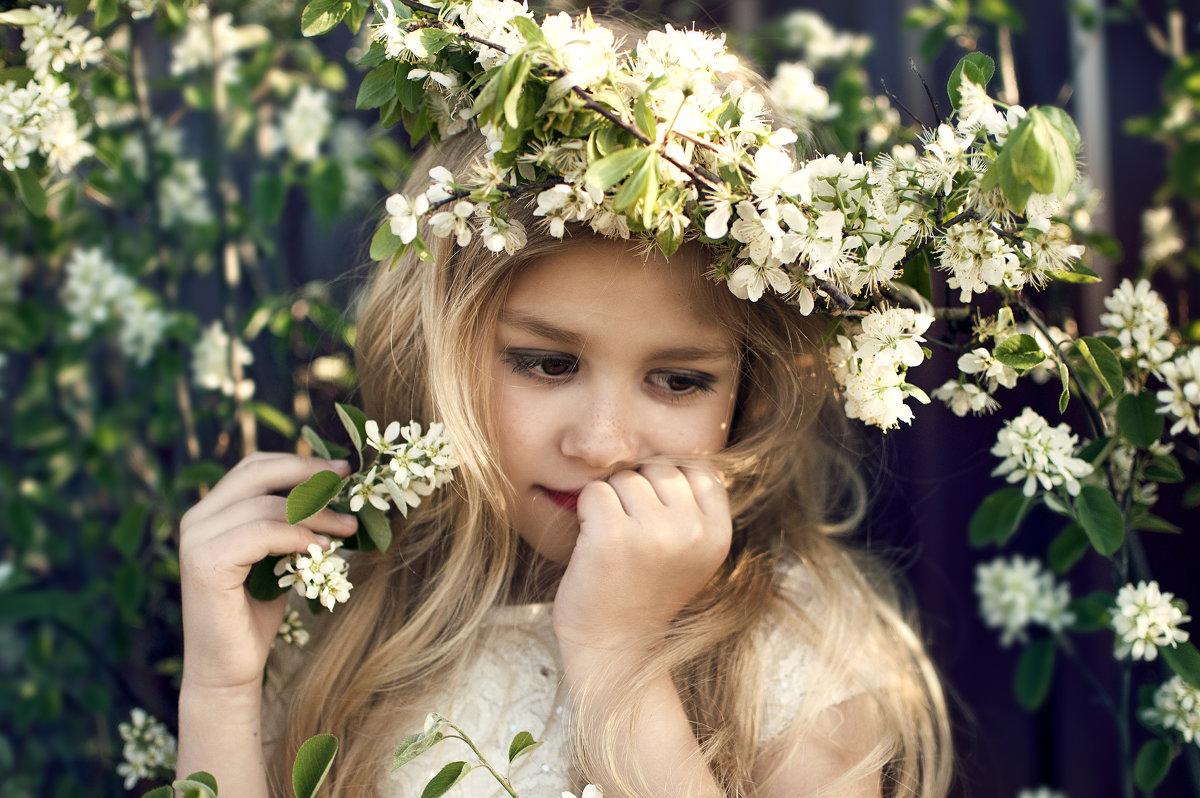 девочка -  весна - Kate Vasileva
