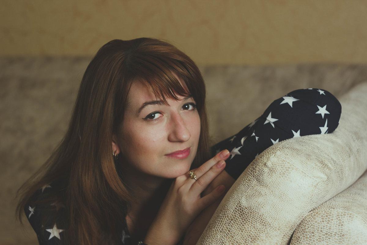 Люся - Annie Wanna_be_like_Leibovitz