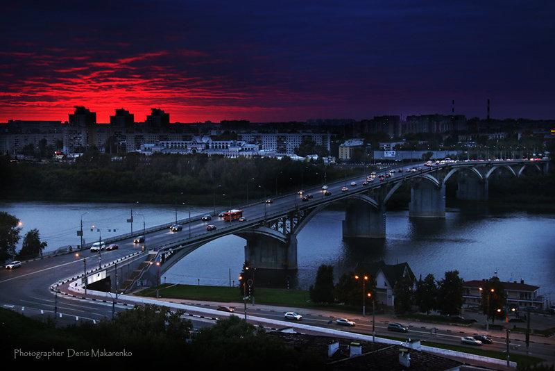 Сентябрьский закат в городе NN - Denis Makarenko