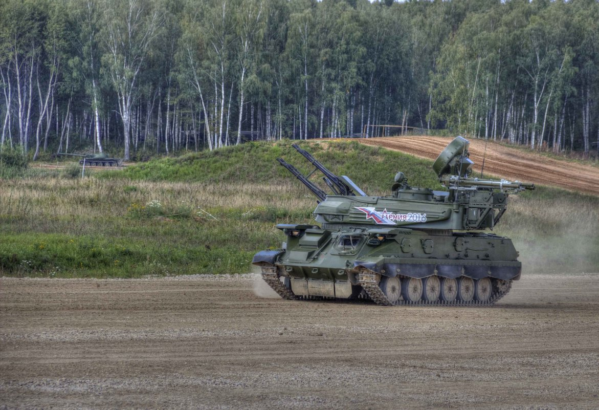 «Шилка» - зенитная самоходная артиллерийская установка - Владимир