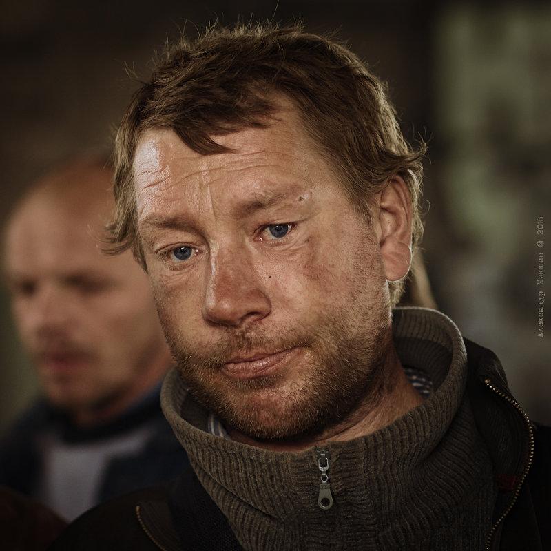 Портрет мужчины - Алексадр Мякшин