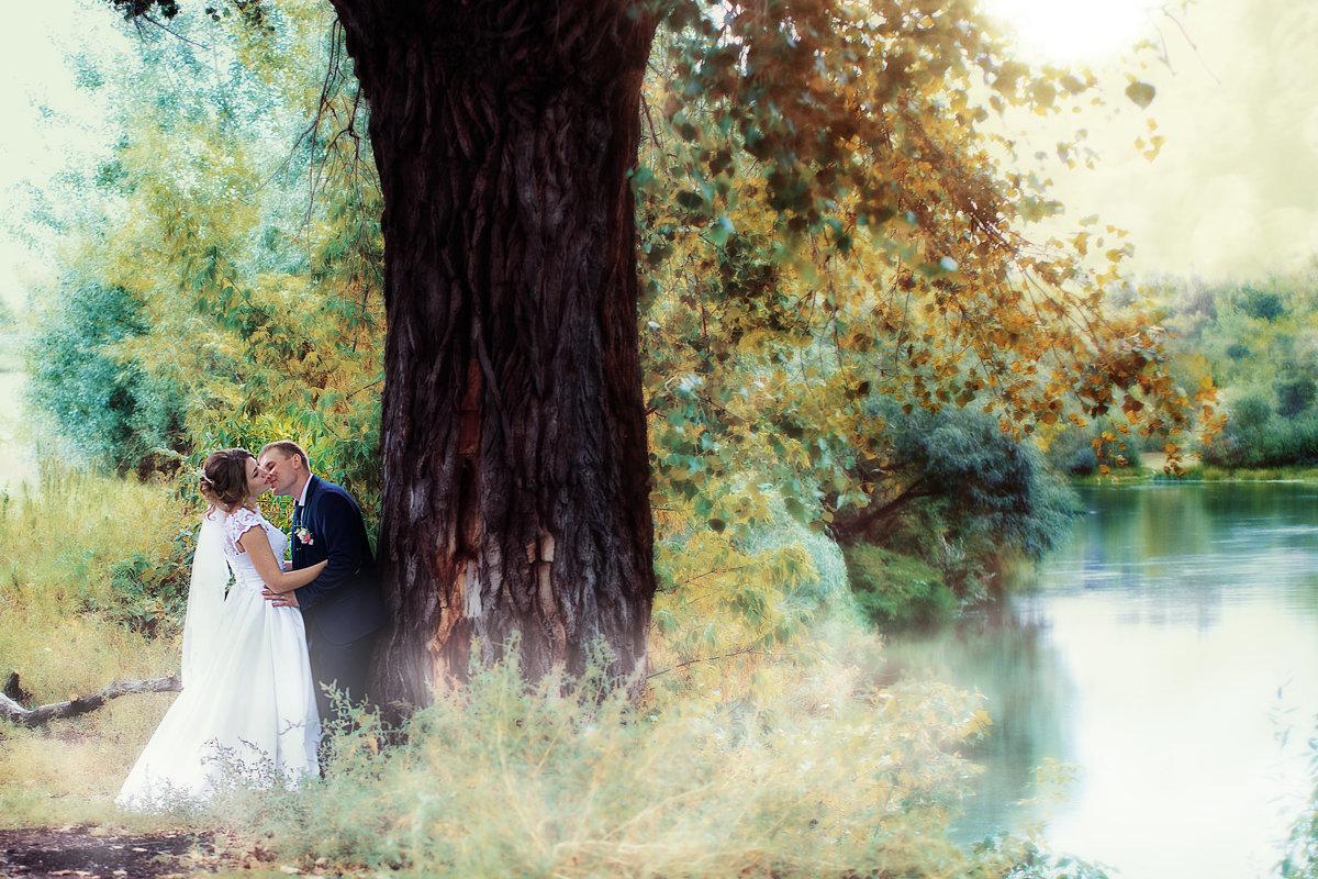 Свадебная прогулка в Красном яру - марина алексеева