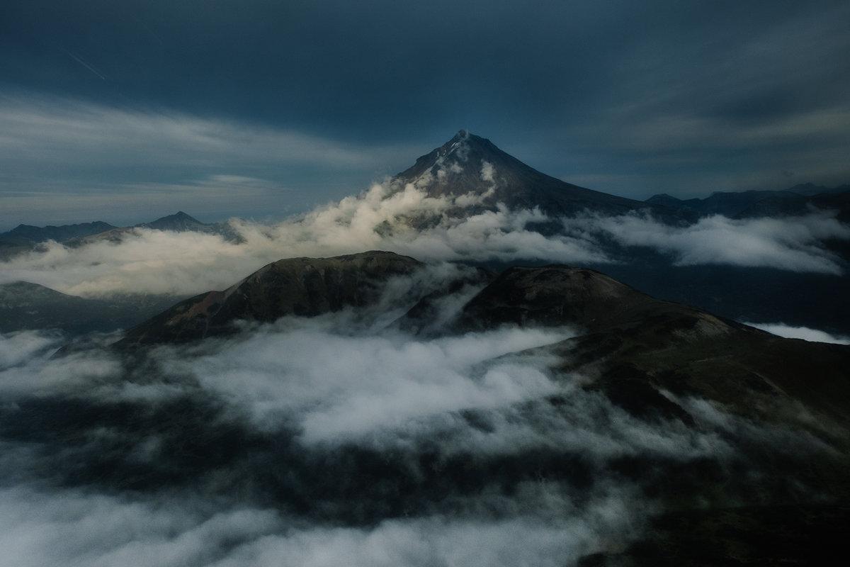 Магия вечернего света. Вулкан Вилючинская сопка - Станислав Маун