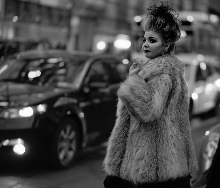 New York City Night Street ... - Alex Kulnevsky