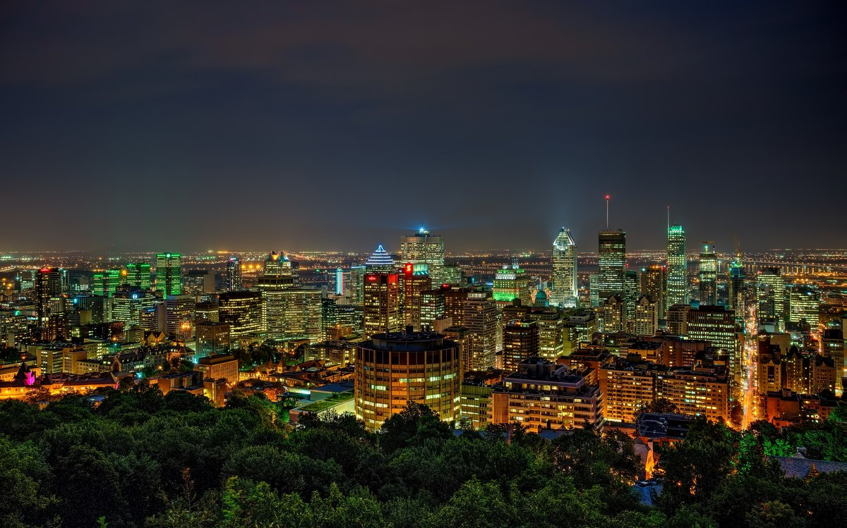 Downtown Montreal, Quebec - Alex Kulnevsky