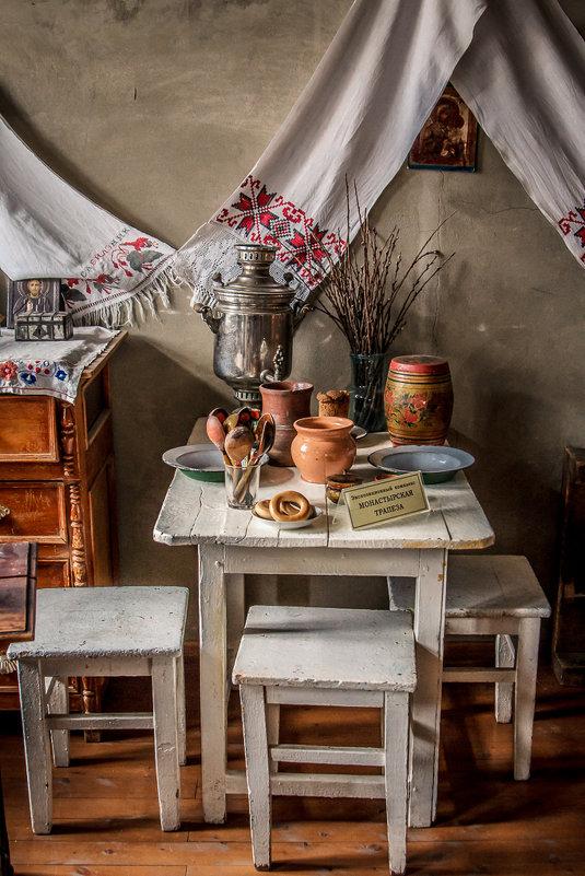 Монастырская трапеза..Музей истории Алтайской духовной миссии - Анна Печкурова