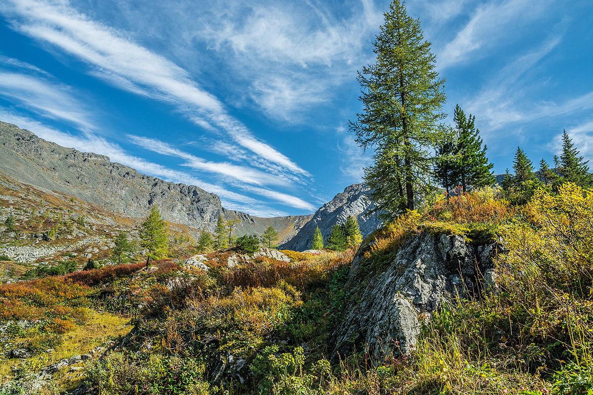 Горы в сентябре - Андрей Поляков