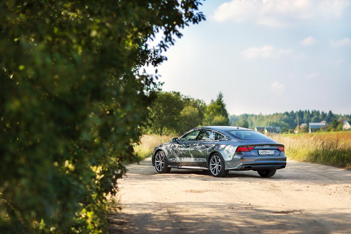 Audi A7 - Марина Юдина