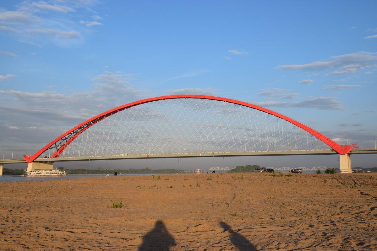 Бугринский мост. Новосибирск. - gegMapuXyaH
