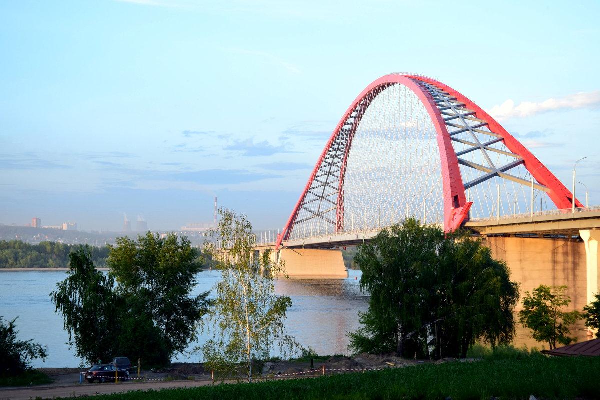Бугринский мост. Новосибирск - 2. - gegMapuXyaH