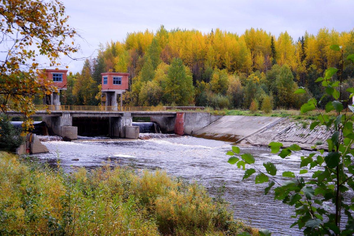 Плотина на реке Солза - Елена Третьякова