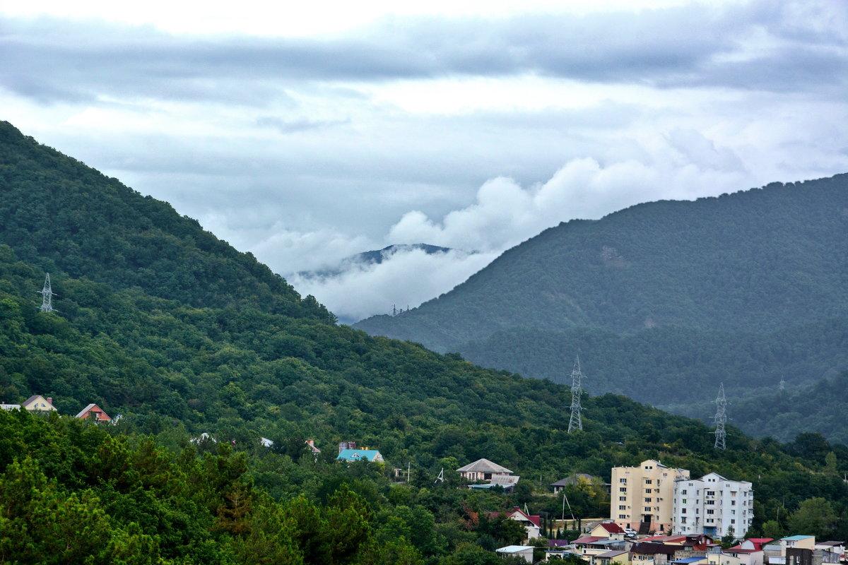 облака в горах - Сергей