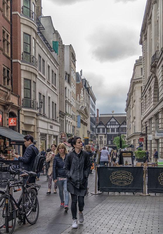 На улицах Лондона. - Сергей Исаенко