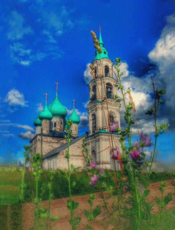 Ярославская область Церковь Воскресения в Левашово - Natalia Mihailova