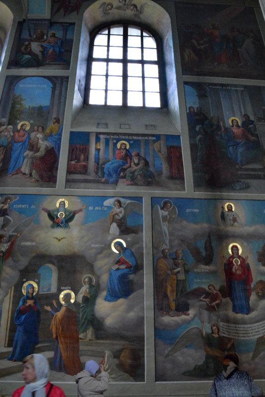 роспись на стенах храма - Валентина Папилова