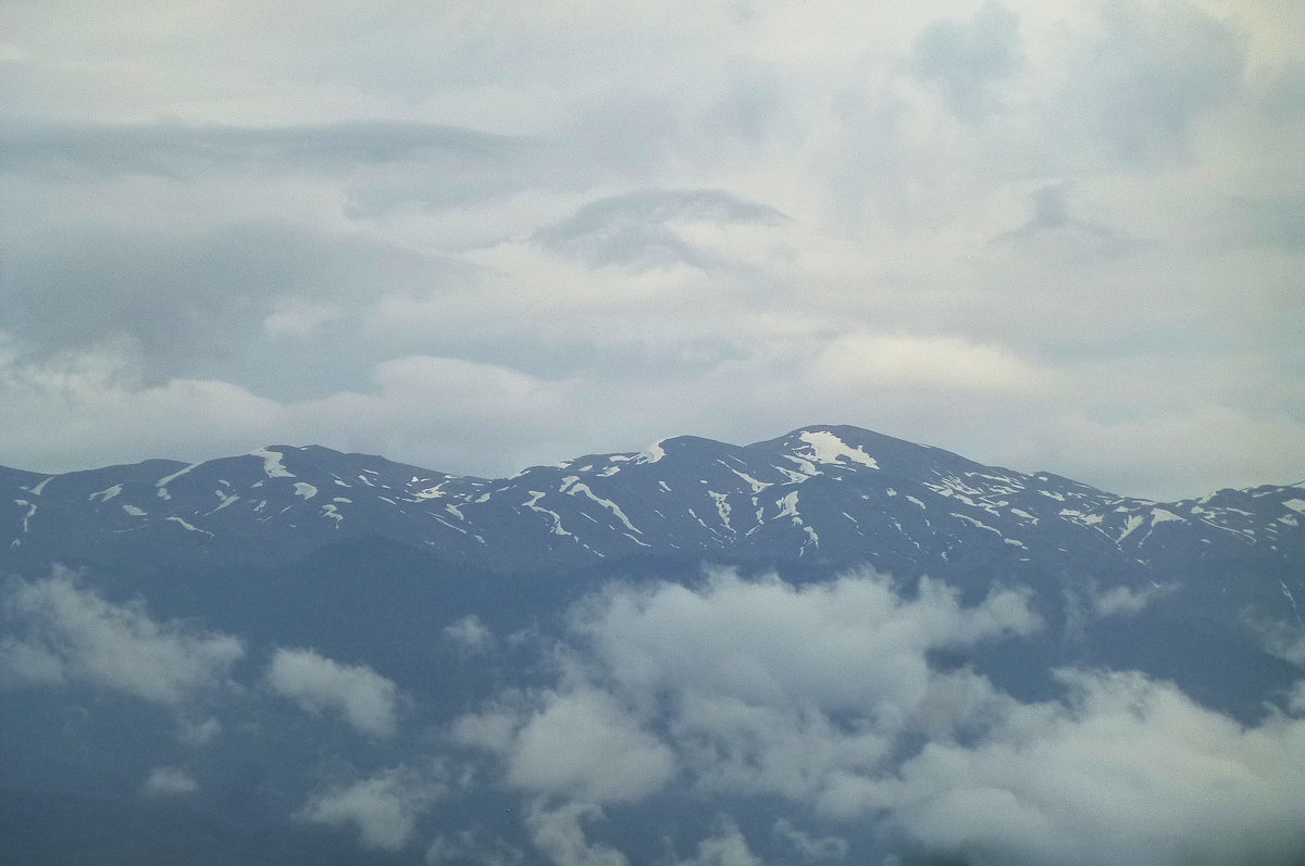 Горы Абхазии - Наиля