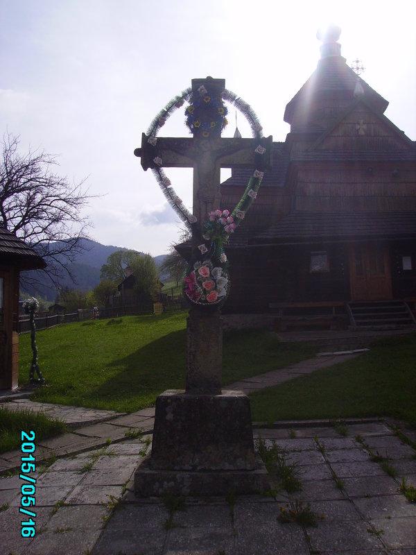 Старый  крест  в   Ворохте - Андрей  Васильевич Коляскин