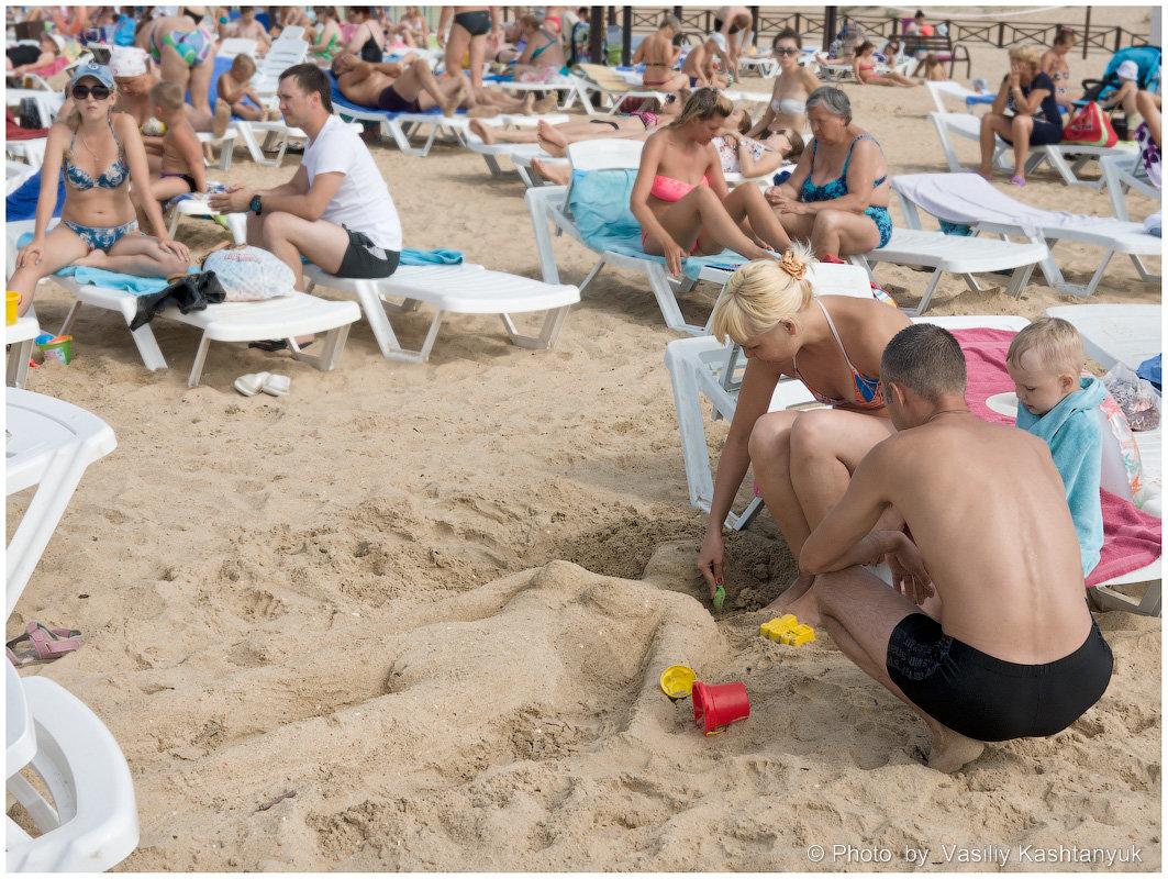 Песчаные скульптуры - Василий Каштанюк