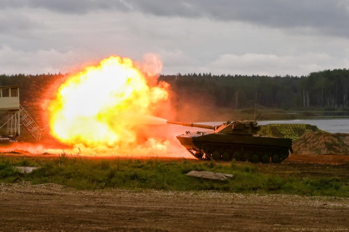"Выстрел 125мм самоходного противотанкового орудия ""Спрут-СД"" - Павел Myth Буканов"