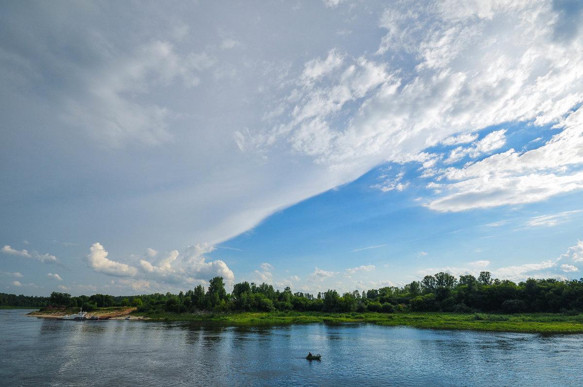 Необычное красивое небо над Белой - Сергей Тагиров