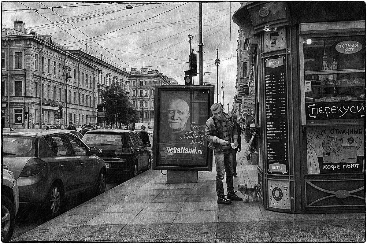 My magic Petersburg_02142   На Кирочной улице - Станислав Лебединский