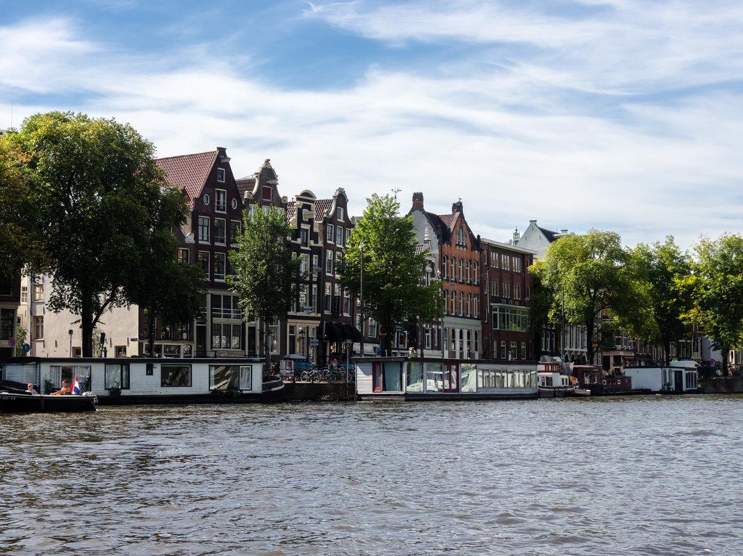 На берегу канала, Амстердам - Witalij Loewin