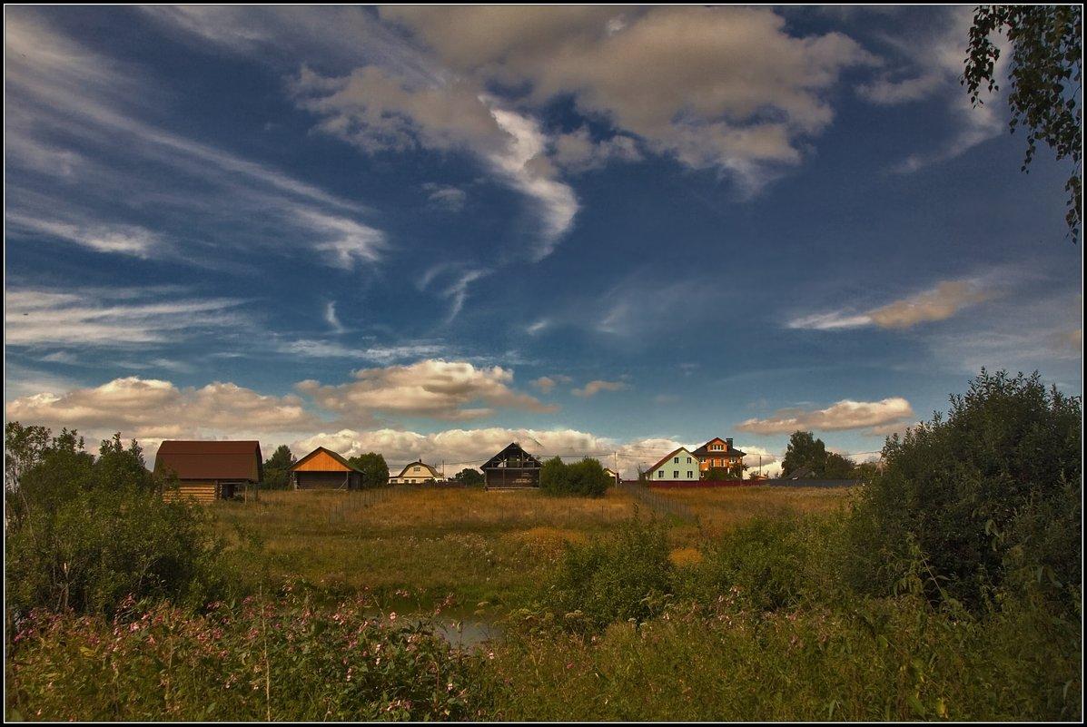 деревенька - Дмитрий Анцыферов