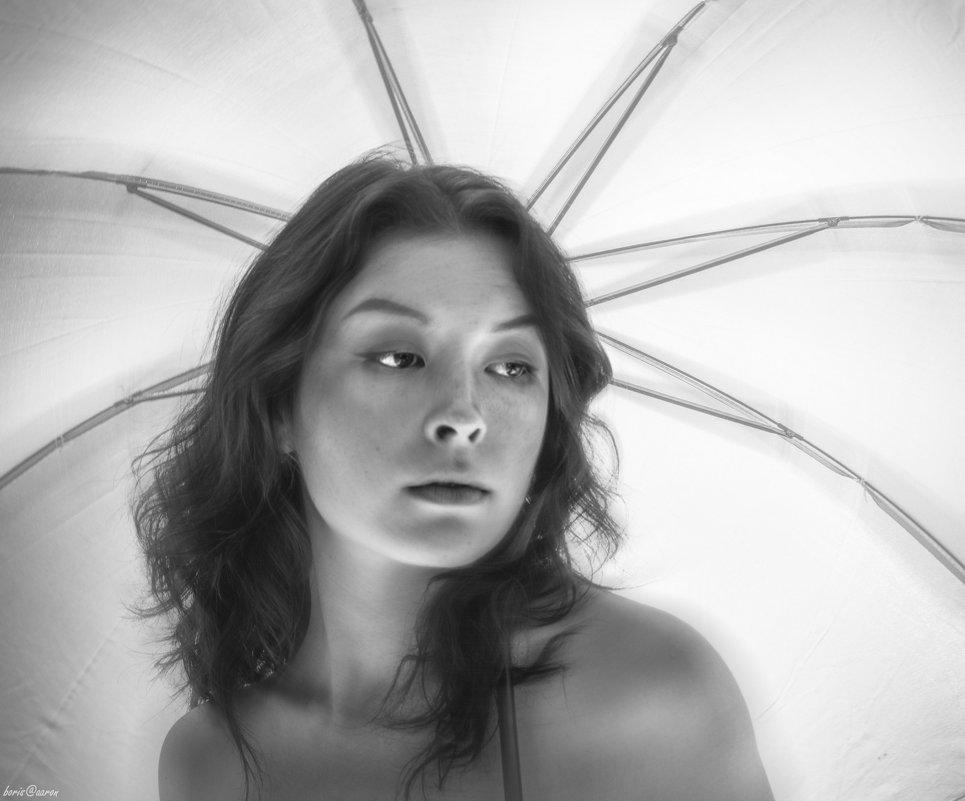 Портрет с зонтиком - Борис Аарон