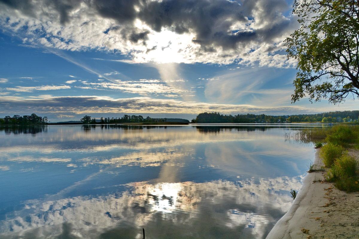 Утро на озере!!!! - Валентина Папилова