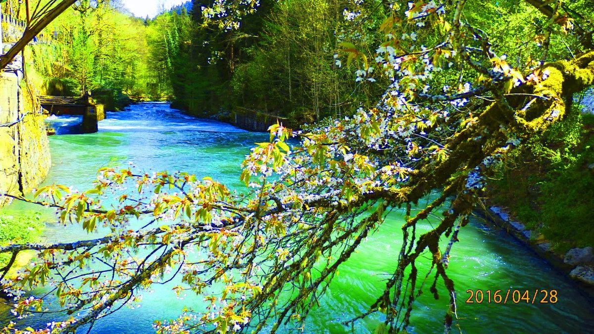 голубое озеро - Таня