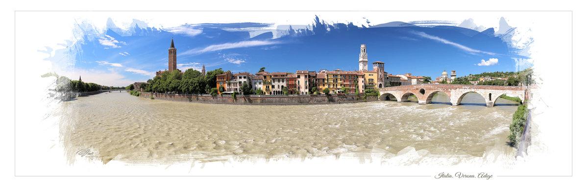 Италия. Верона. Адидже - DimCo ©