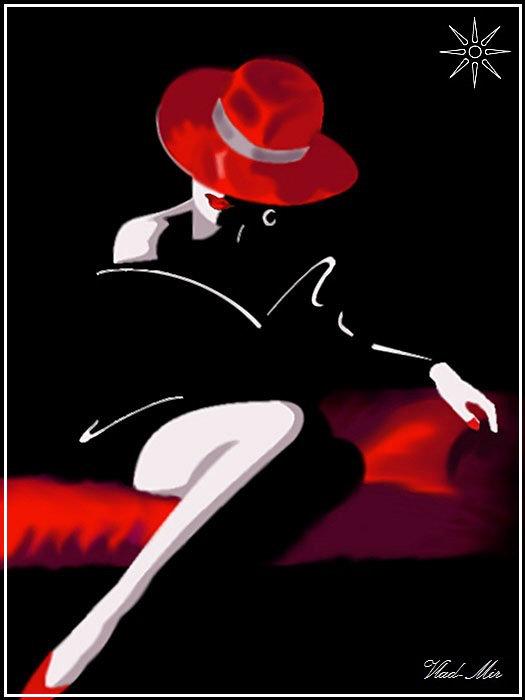 Дама в шляпке - Vlad - Mir