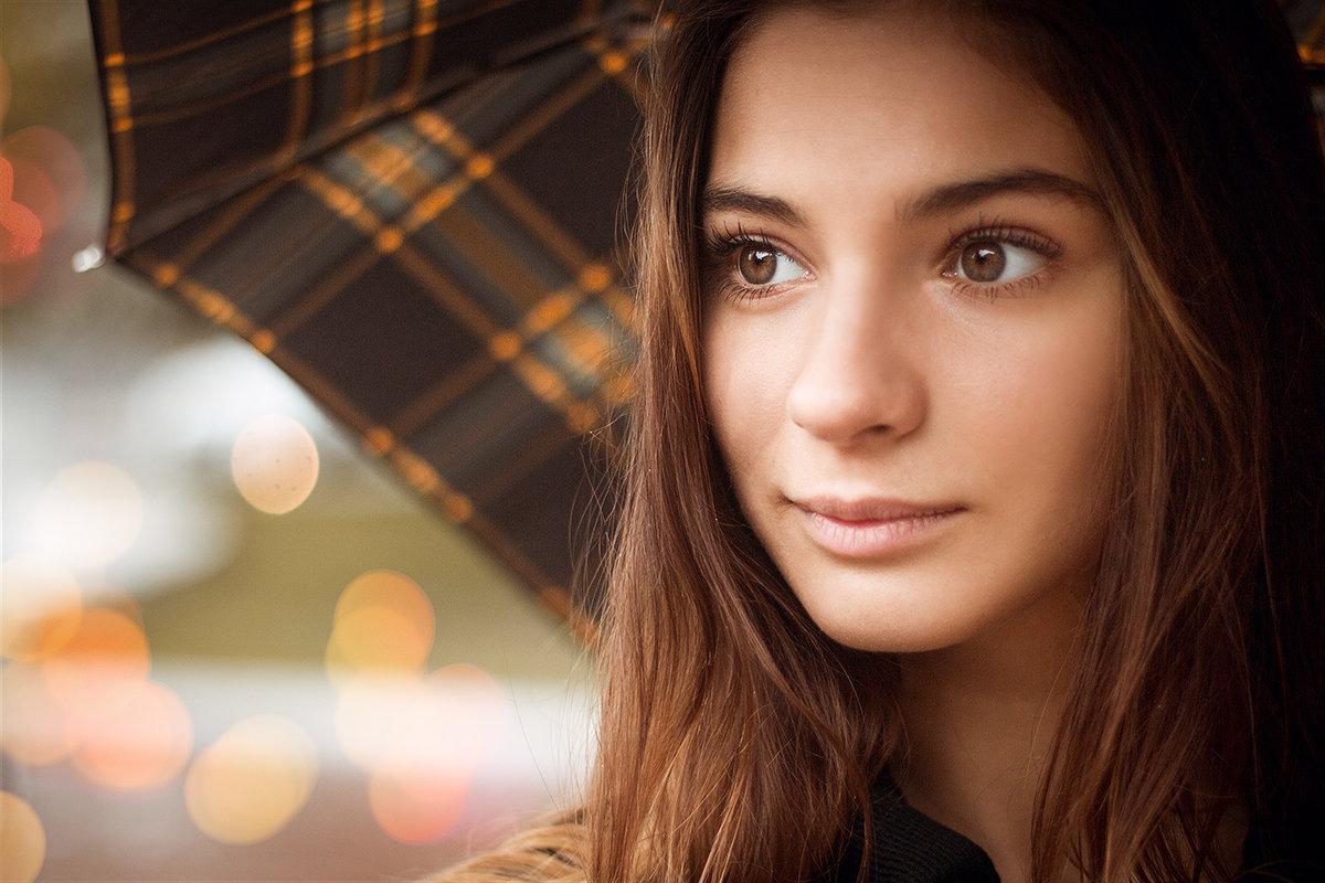 Портрет с зонтом - Ольга Белёва