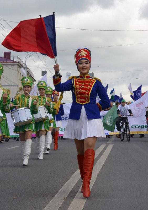 Парад студентов - arkadii