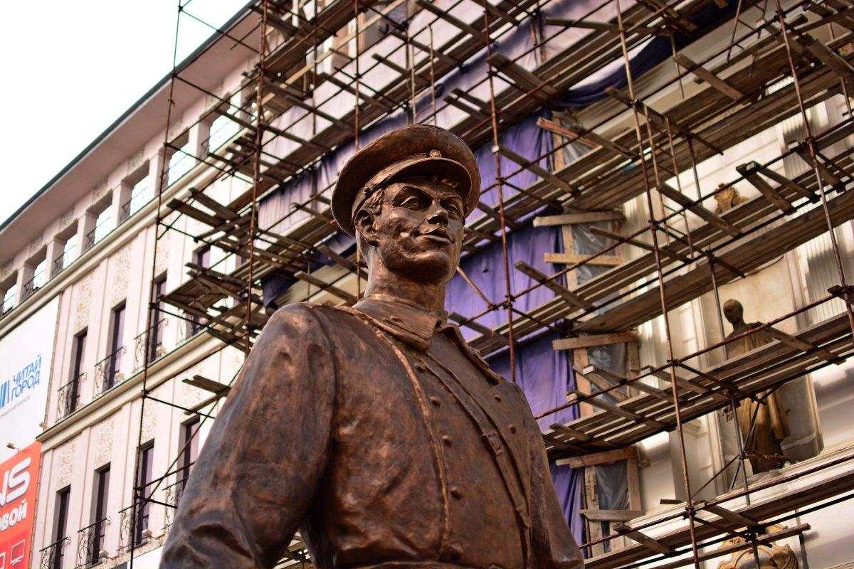 Самарская скульптура дядя Степа - Евгений