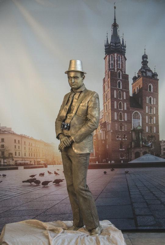 Человек с позолотой - Яков Реймер