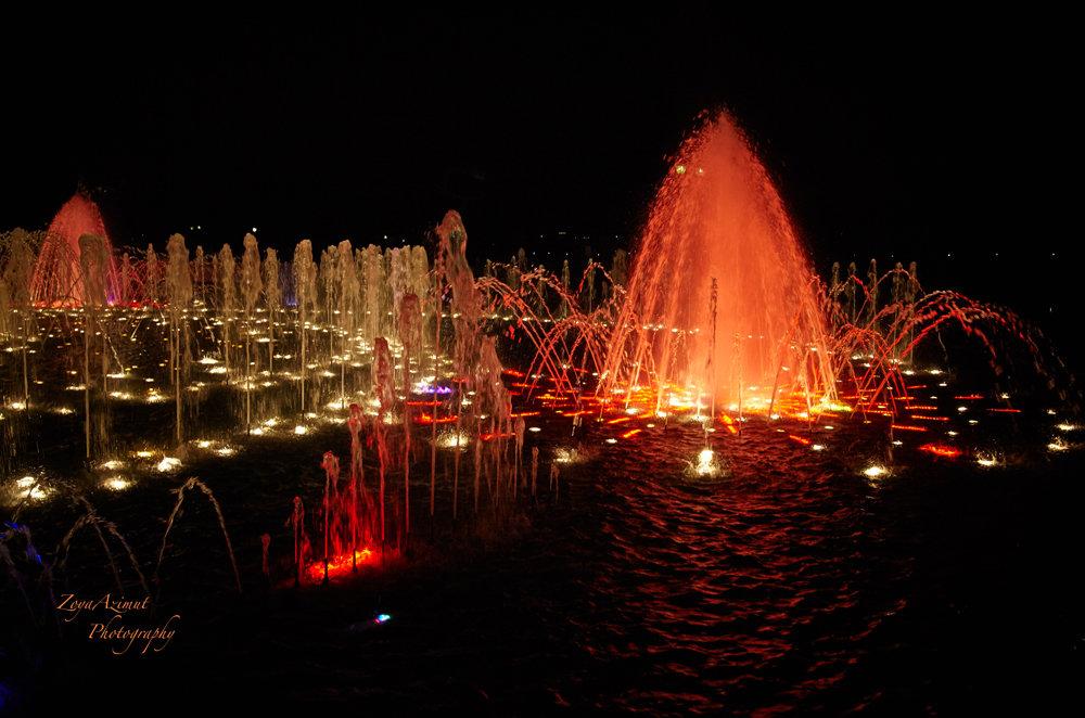 Цветные фонтаны в Царицыно. - Зоя Азимут