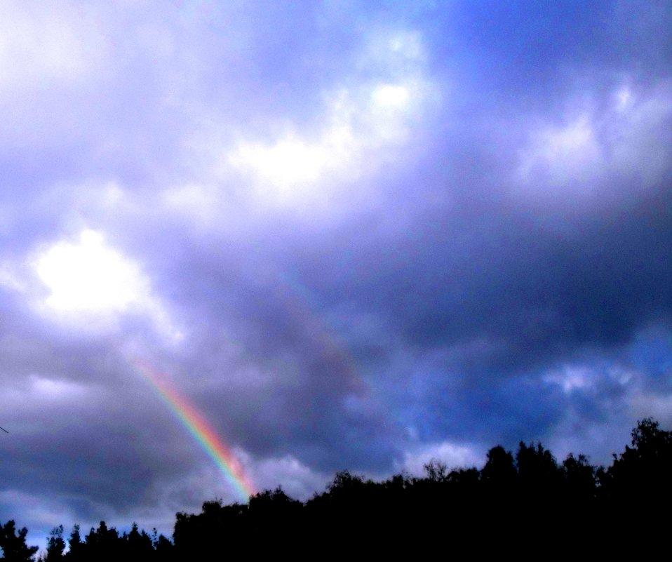 Предзакатная радуга - Лебедев Виктор