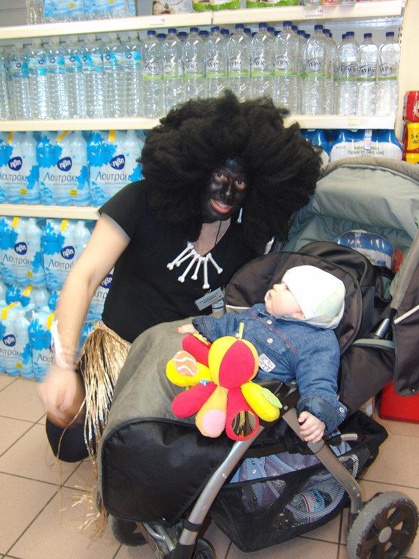 Вот кого встретили в супермаркете. - Оля Богданович