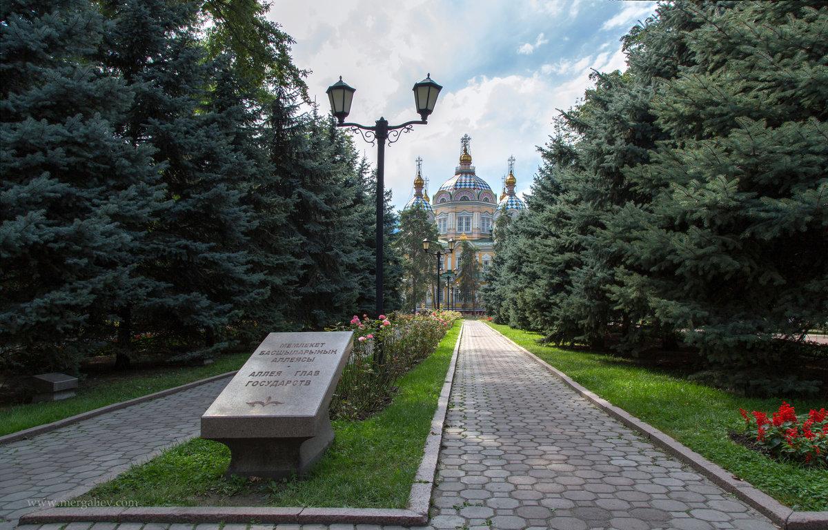 Свято-Вознесенский кафедральный собор в Алма-Ате - Евгений Мергалиев