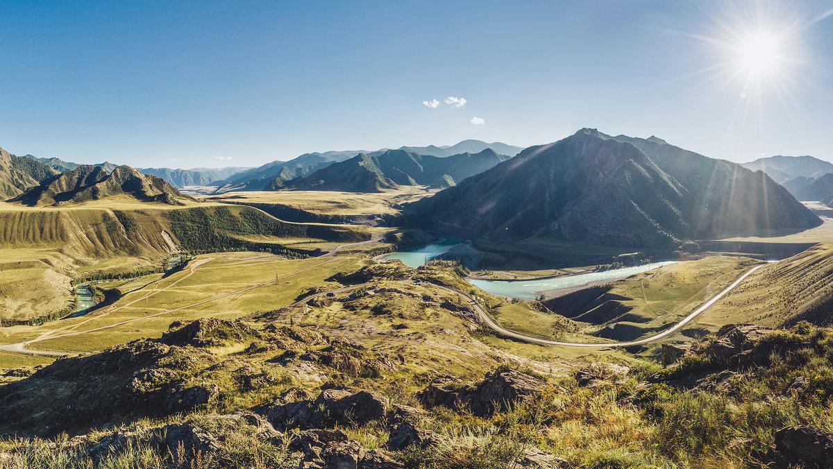 Реки и дороги Алтая - Егор Балясов