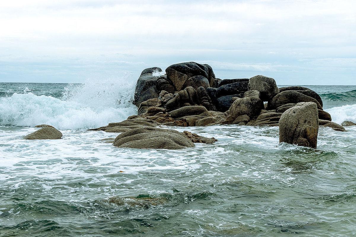 Морской пейзаж - Жанетта Буланкина