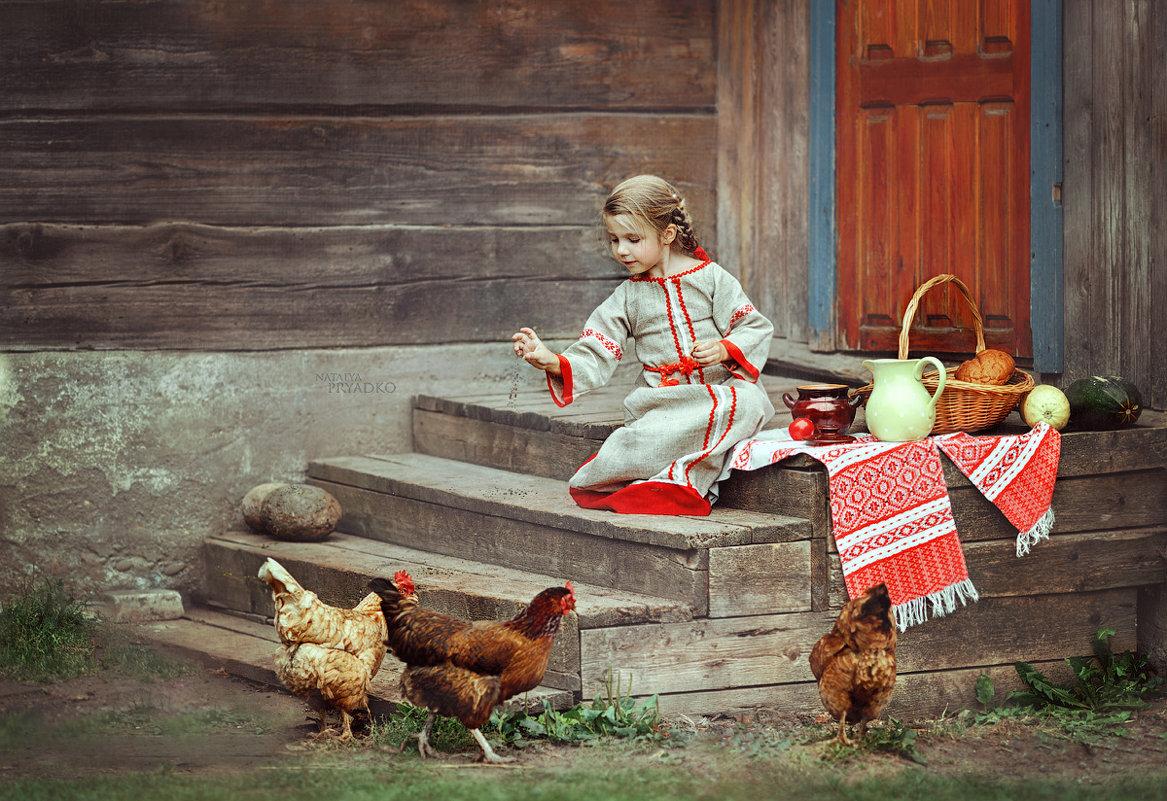 Лето в деревне - Наталья