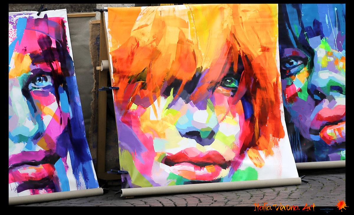 Арт на улицах Вероны - DimCo ©